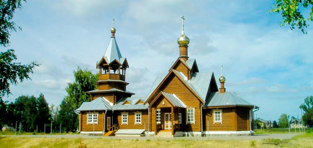 Церковь в честь Тихвинской иконы Божией Матери