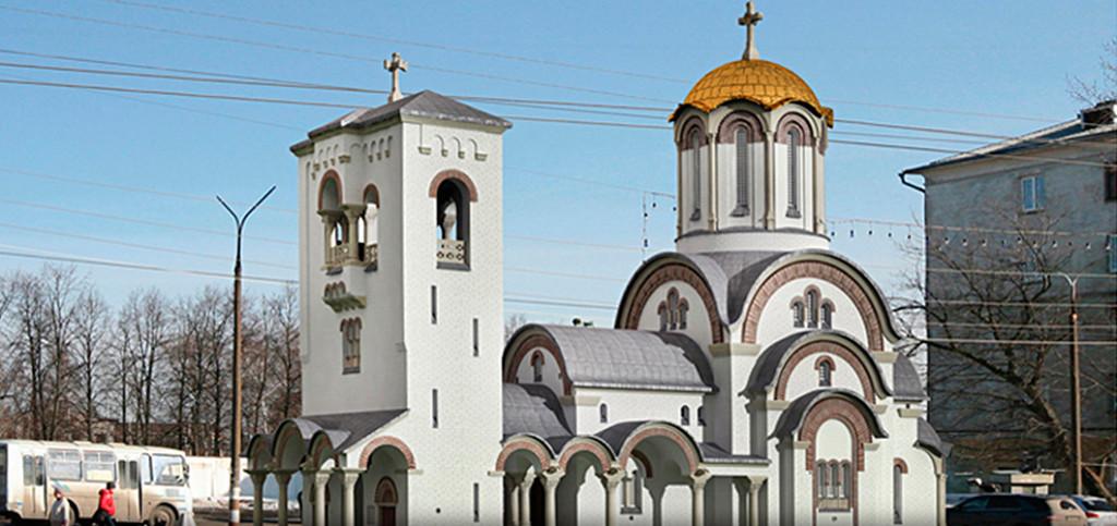Церковь во имя преподобного Серафима Саровского (строящаяся)