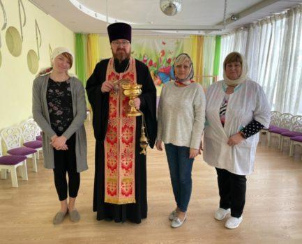Благочинный Московского района совершил чин освящения детского сада № 322