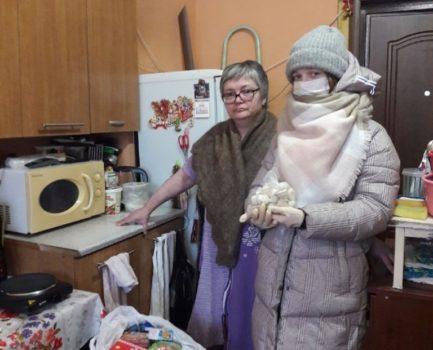 24 февраля В Московском благочинии была проведена адресная развозка продуктовых наборов