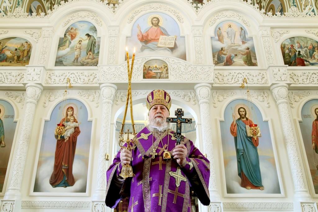 Архиерейское богослужение состоится 16 и 17 апреля