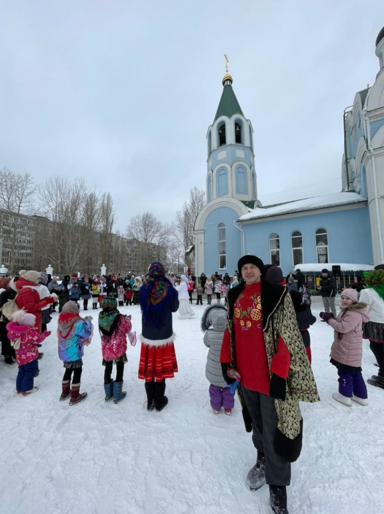 14 марта в Московском благочинии прошли масленичные гуляния
