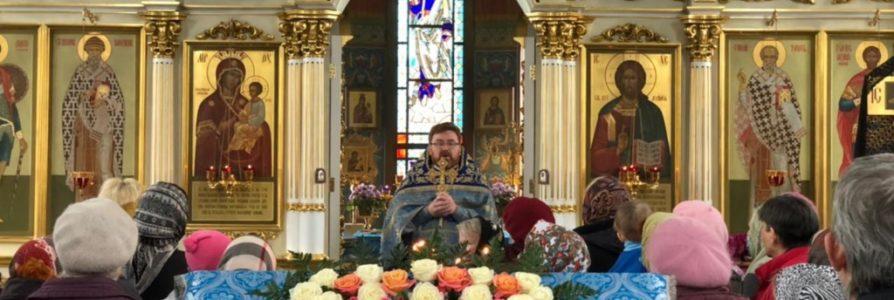 7 апреля в храме в честь иконы Божией Матери «Скоропослушница» прошла праздничная служба.