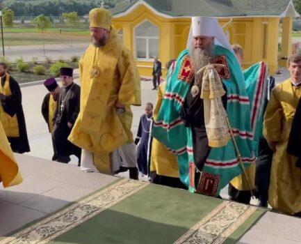 2 августа состоялось перенесение мощей Георгия Всеволодовича в кафедральный собор Александра Невского